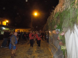 Fêtes de Lanvellec, défilé nocturne costumé