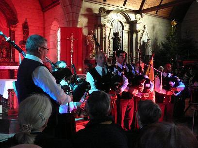 Concert musique écossaise